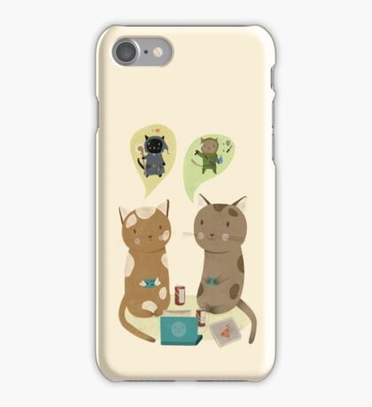 Geek Cats  iPhone Case/Skin