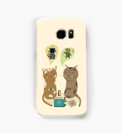 Geek Cats  Samsung Galaxy Case/Skin