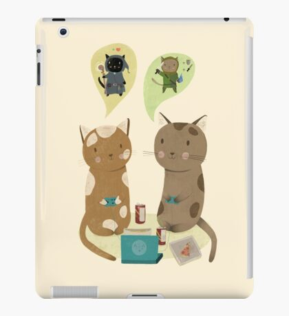 Geek Cats  iPad Case/Skin