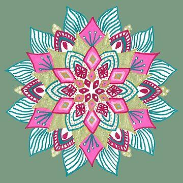Pinky mandala by zetwal