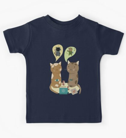Geek Cats  Kids Clothes