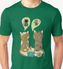 Geek Cats  Unisex T-Shirt