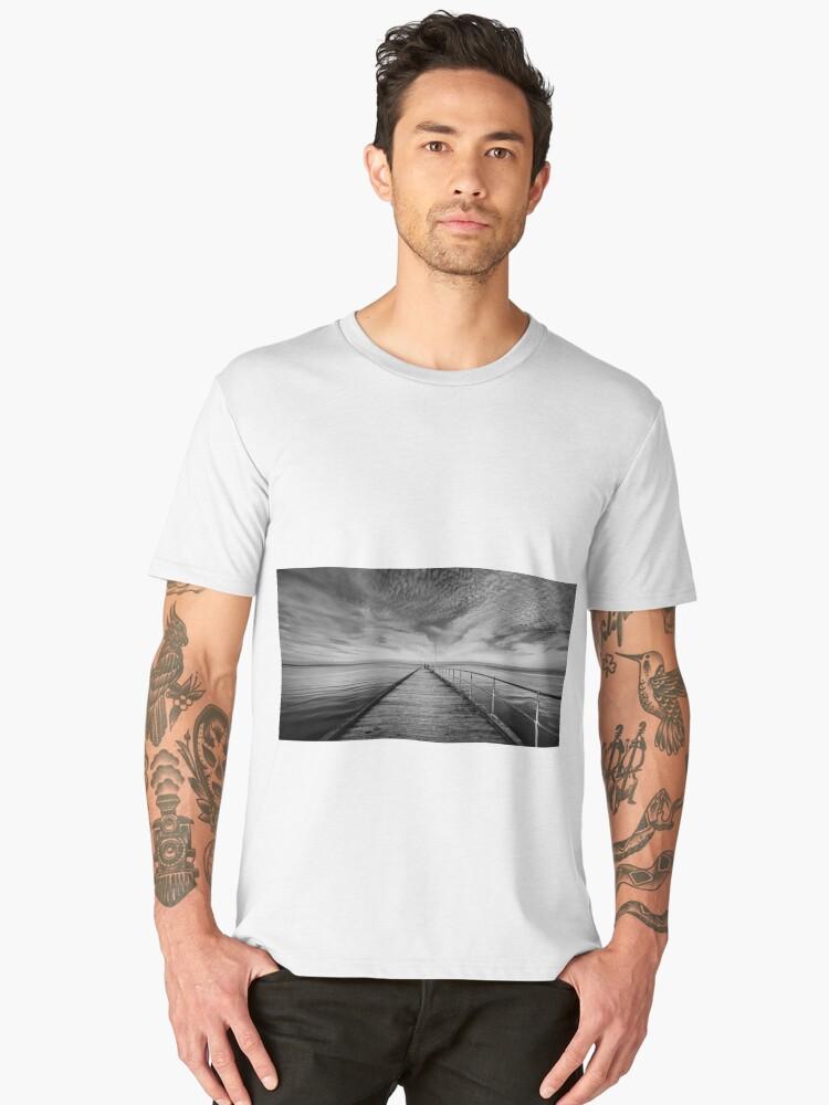 Mordialloc Pier II Men's Premium T-Shirt Front