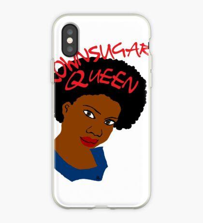BrownSugar Queen Naturhaar AfroTshirt iPhone-Hülle & Cover