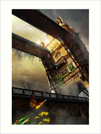 Tower in London by Deividart