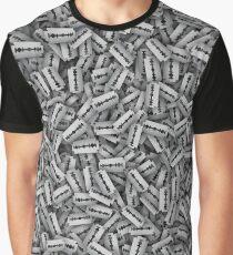 Razor blades Graphic T-Shirt