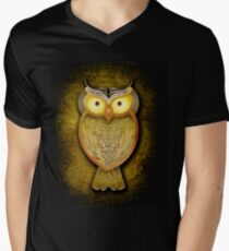 Búho tonalidades cálidas T-Shirt
