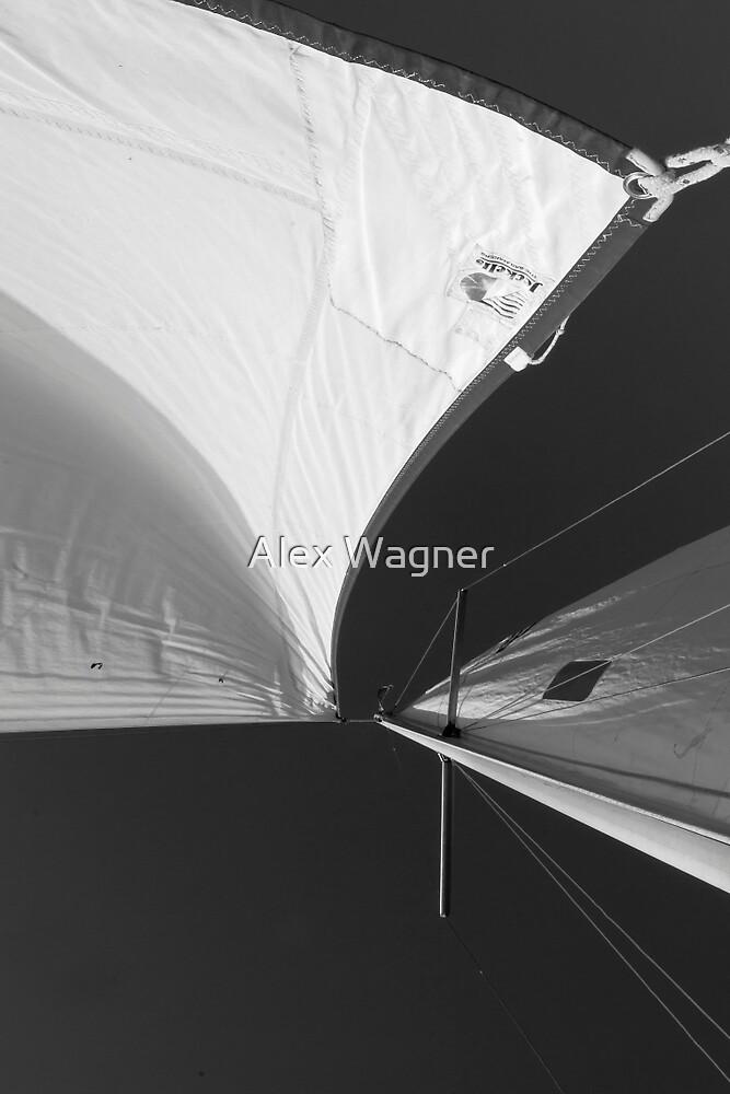 B&W Sails #2 by Alex Wagner