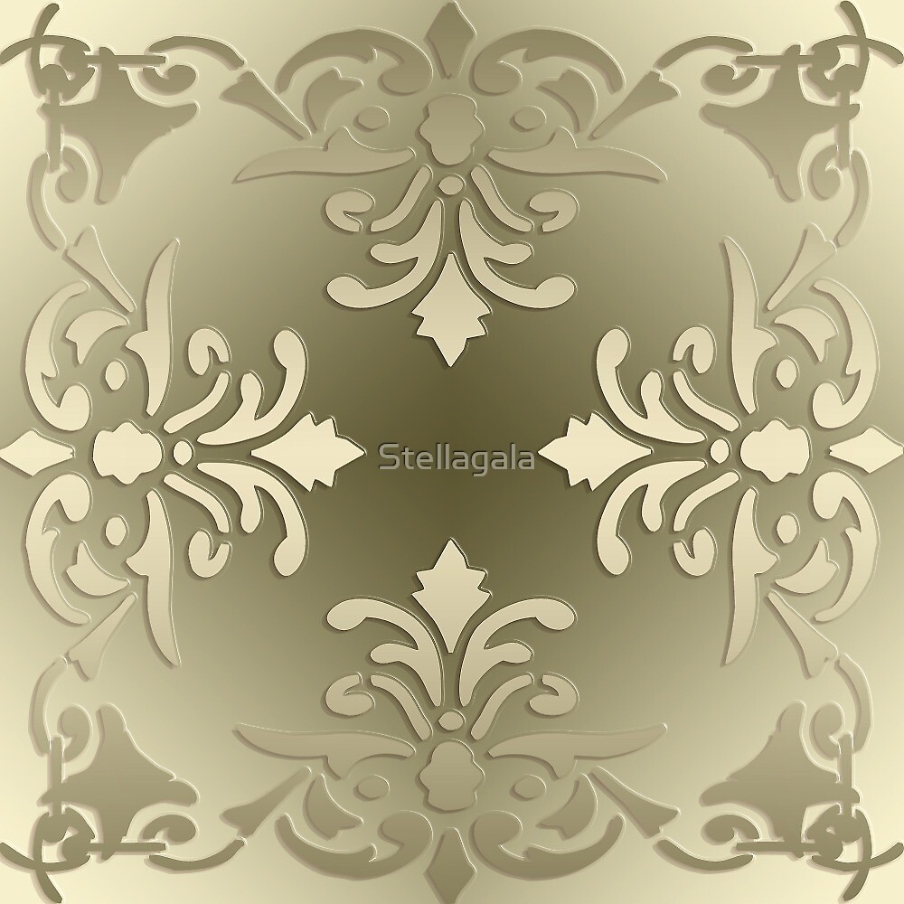 baroque style pattern by Stellagala