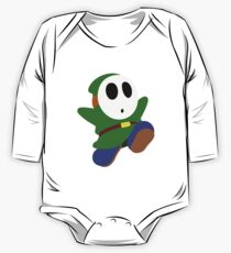 Green Shy Guy Kids Clothes