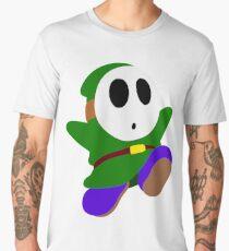 Green Shy Guy Men's Premium T-Shirt
