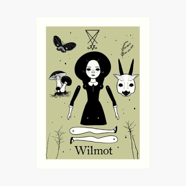 The Afflicted - Wilmot Art Print