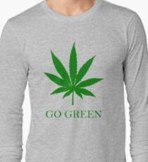 Vape Nation - Go Green With Weed  T-Shirt