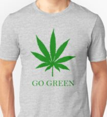 Vape Nation - Go Green With Weed  Unisex T-Shirt