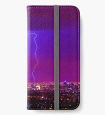 Lightning over Adelaide iPhone Wallet/Case/Skin