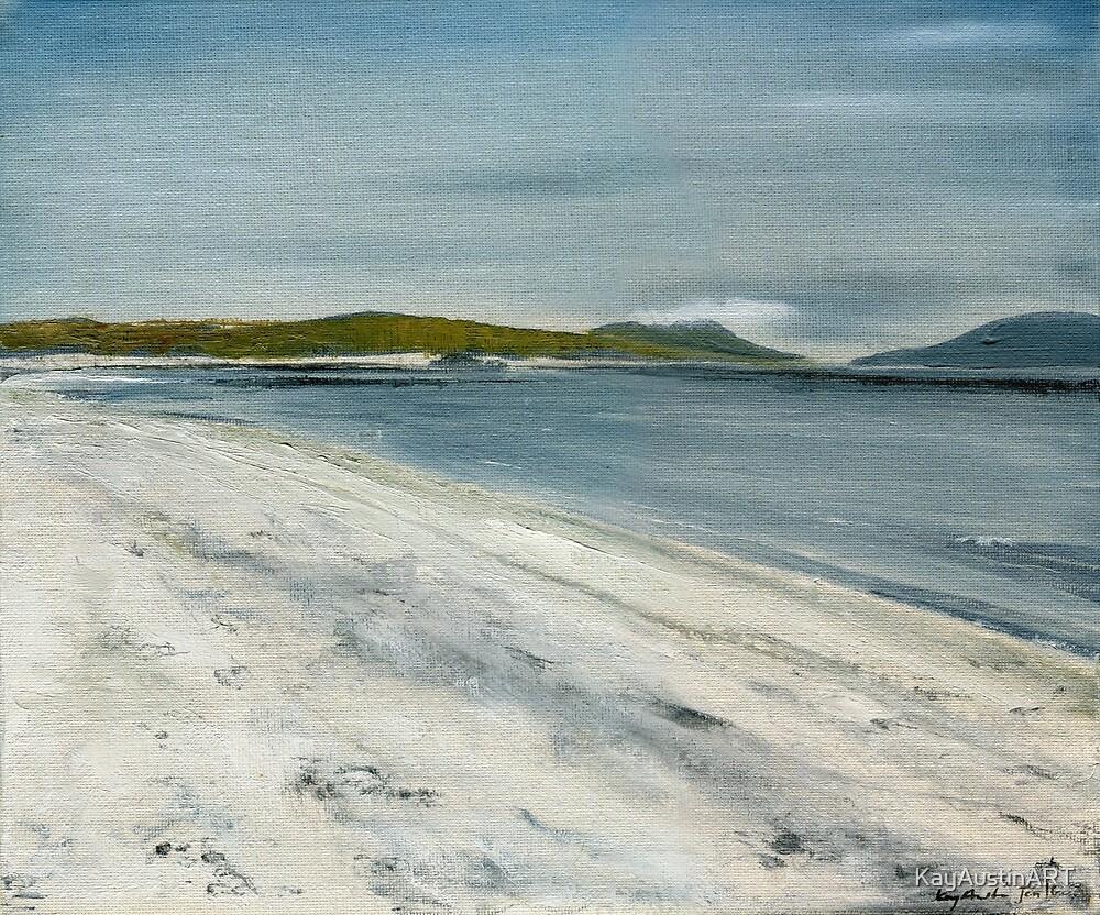 Uist Beach, Inner Hebrides by KayAustinART