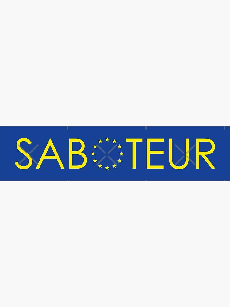 NDVH Saboteur by nikhorne
