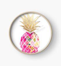 Aloha Ananas, Pink Uhr