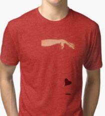 Drop it like it hurts. Tri-blend T-Shirt