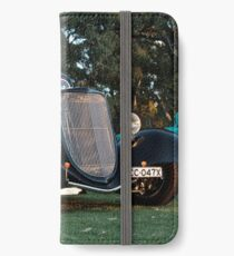 1933 Black Ford Coupe iPhone Wallet