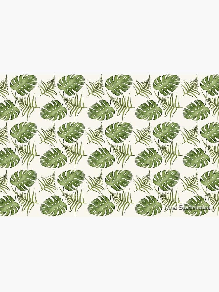 Florales Wasserfarben Muster von Pixel-Nina
