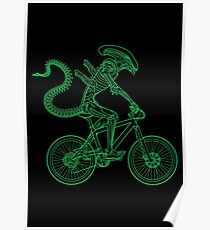 Alien Ride Poster