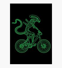 Alien Ride Photographic Print