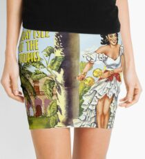 Cuba Holiday Isle of the Tropics Mini Skirt