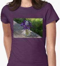 A Fragrant Bouquet of Spring - Can You Smell It? Womens Fitted T-Shirt