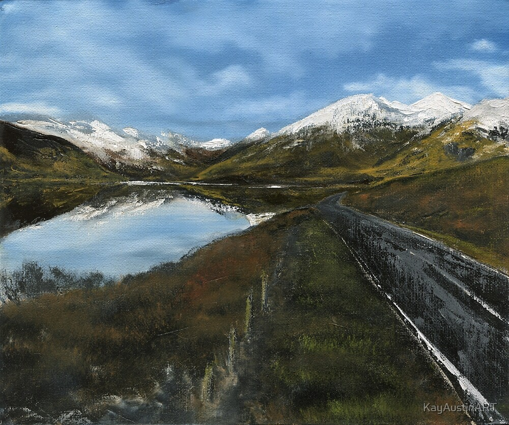 Road to Skye by KayAustinART