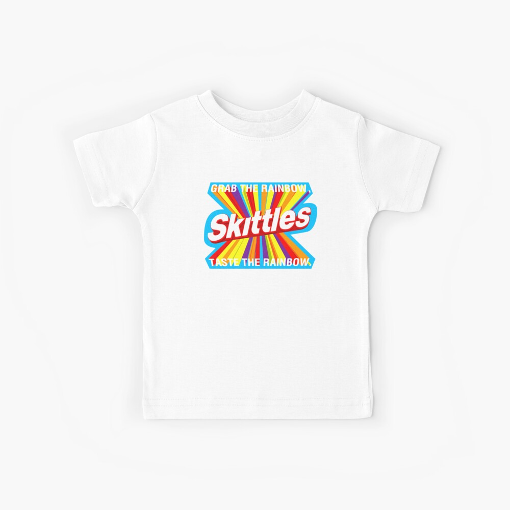 Rainbow food quote Kids T-Shirt