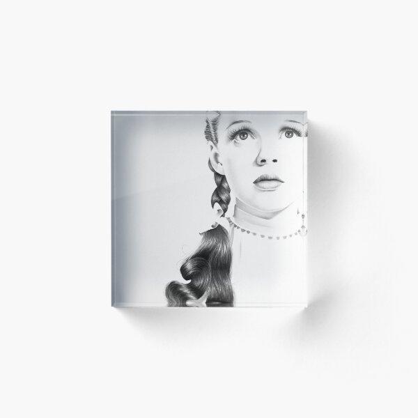 Judy Garland Acrylic Block
