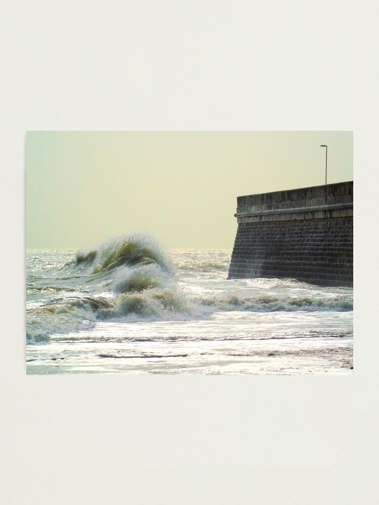 Alternate view of Waves over Ramsgate Photographic Print