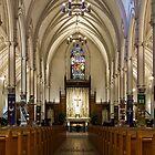 St. Basil's Catholic Church by John Velocci