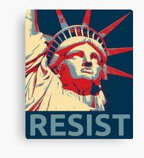 Anti-Trump Resist Statue of Liberty Canvas Print
