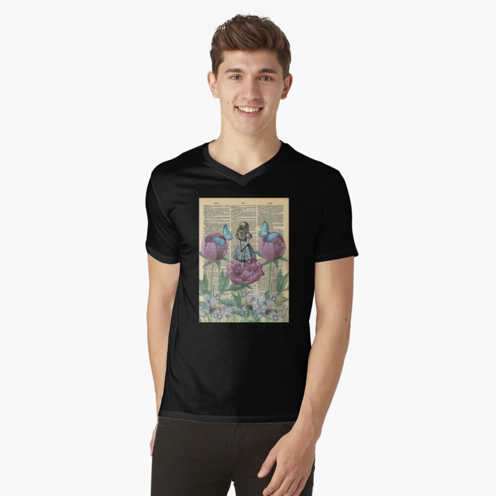Alicia en el país de las maravillas - Wonderland Garden Camiseta de cuello en V