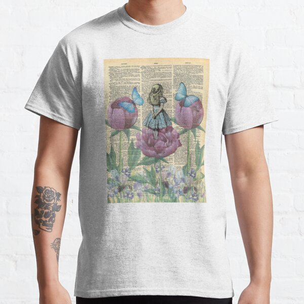 Alice au pays des merveilles - Wonderland Garden T-shirt classique