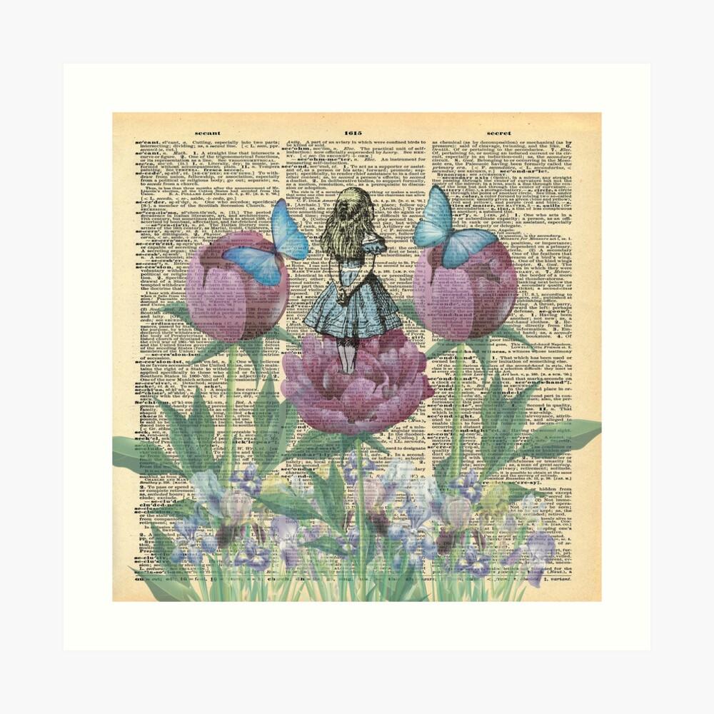 Alicia en el país de las maravillas - Wonderland Garden Lámina artística