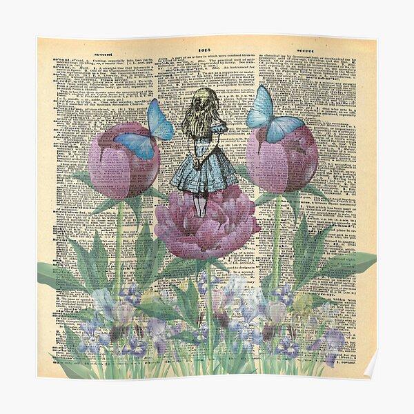 Alice In Wonderland - Wonderland Garden Poster