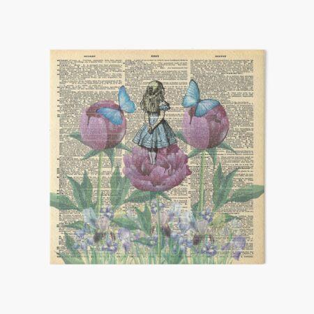 Alice In Wonderland - Wonderland Garden Art Board Print