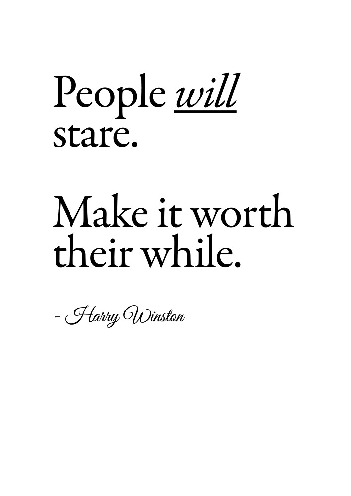 people will stare... by meeperoon