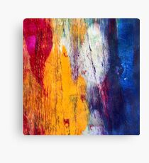 Abstract French Election Canvas Print