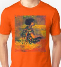 John La Farge girl in grass dress 1890 T-Shirt