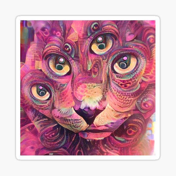 Catnip Eyes Sticker