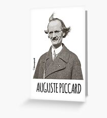 Auguste Piccard Greeting Card