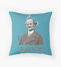 Auguste Piccard Throw Pillow