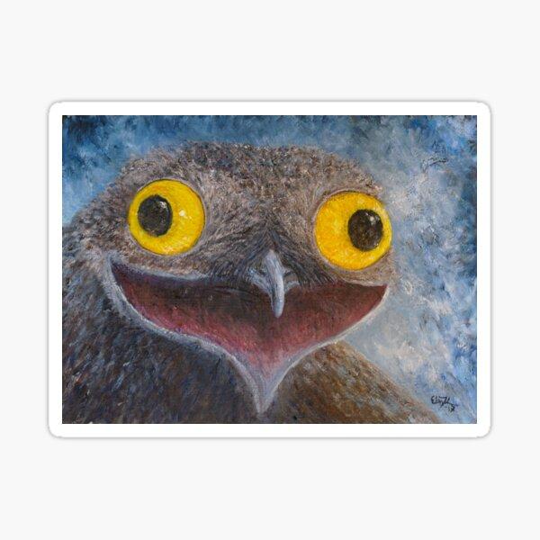 Common Potoo (Nyctibius griseus) Sticker