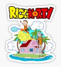 beach dragonball Sticker
