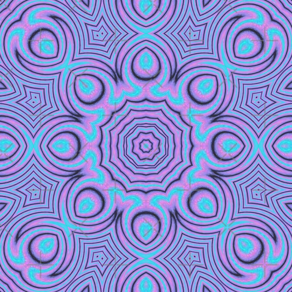 Trippy Mandala by KaleiopeStudio