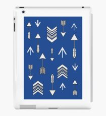Lula Roe Arrows - Blue iPad Case/Skin